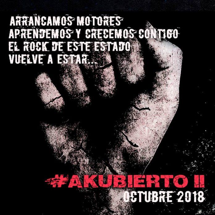 El festival Akubierto anuncia una nueva edición para octubre de 2018