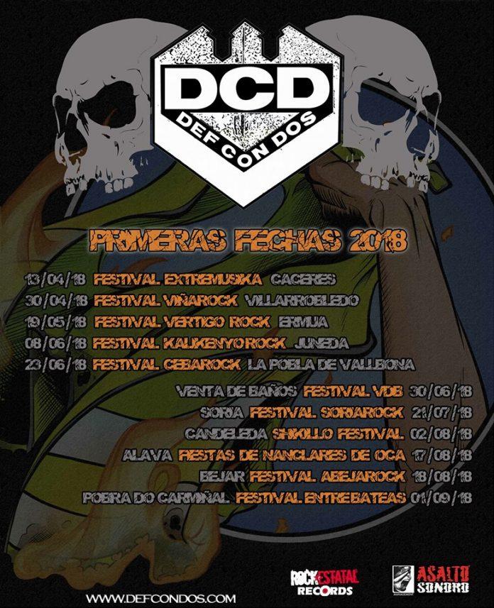 Def Con Dos anuncian los primeros conciertos de su gira #trending_distopic en 2018
