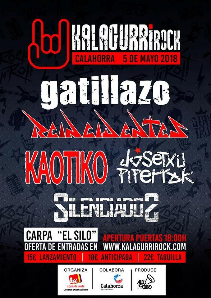 Kalagurrirock 2018 | Cartel, grupos, entradas y horarios