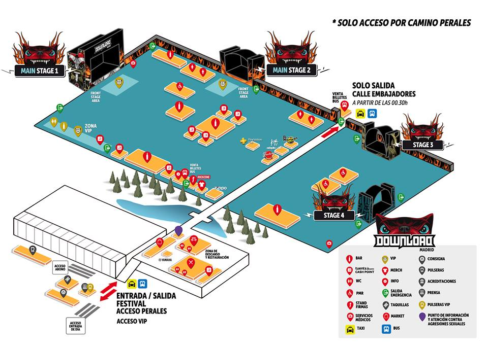 Download Festival Madrid 2018 | Cartel, entradas, abonos, entradas, horarios y más