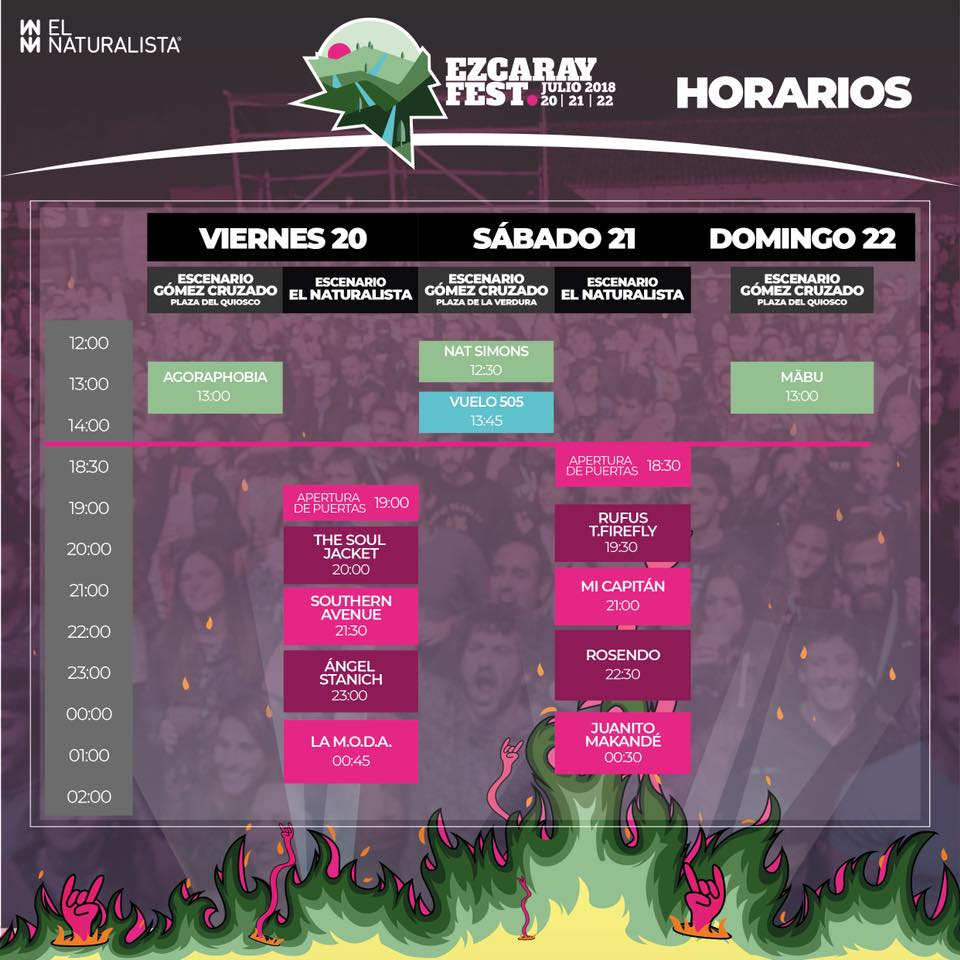 Ezcaray Fest 2018 - Cartel, grupos, entradas y horarios