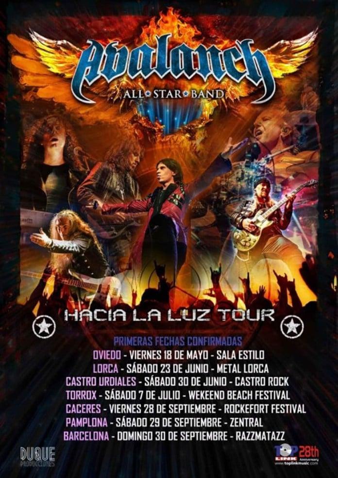 Avalanch publican el video de Xana grabado en directo en La Riviera