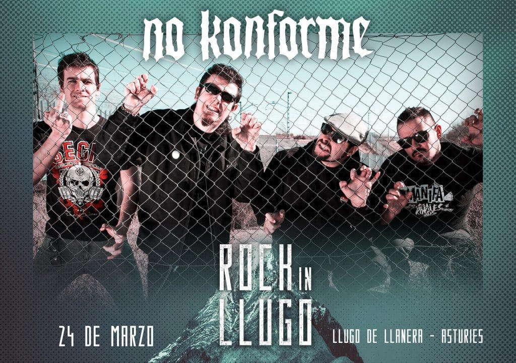 Entrevista a No Konforme con motivo de su participación en el festival Rock In Llugo 2018