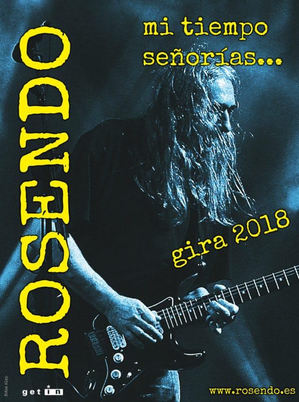 Primeras fechas confirmadas de la gira de despedida de Rosendo en 2018