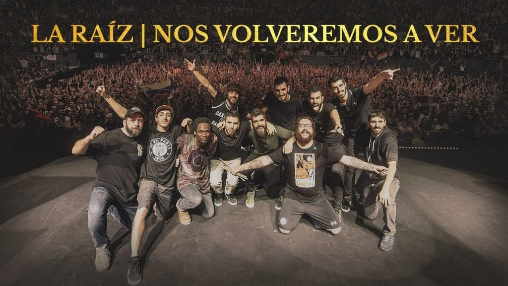 La Raíz publican su DVD grabado en directo Nos Volveremos A Ver al completo