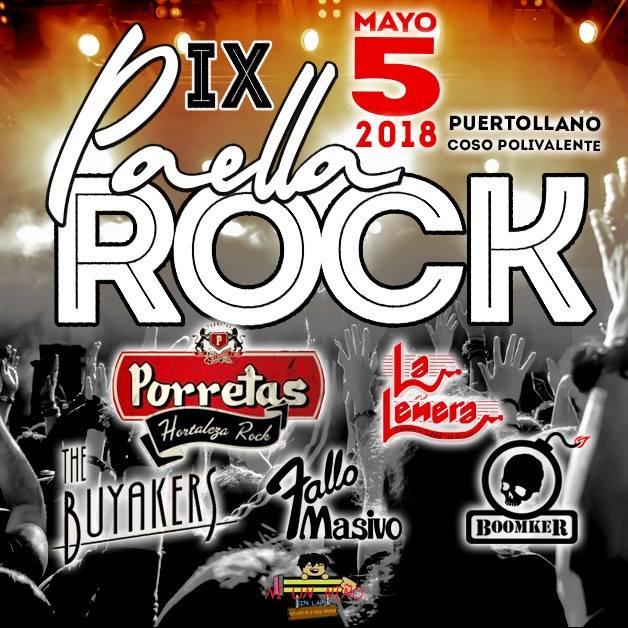 Paella Rock 2018 | Cartel, grupos, entradas, abonos, horarios y más