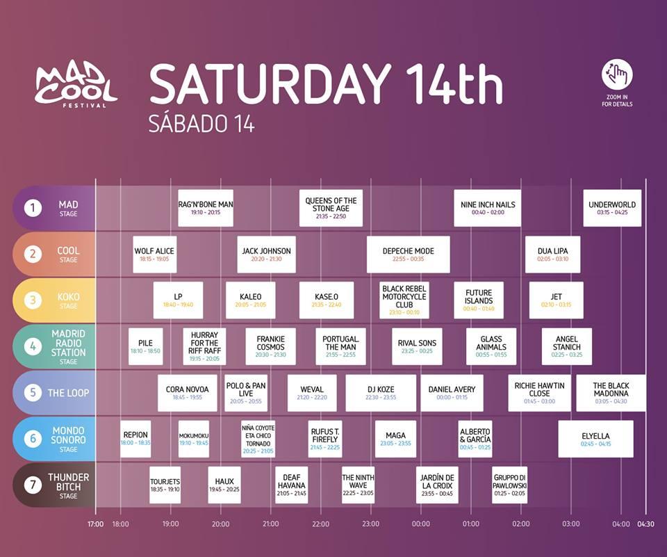 Mad Cool Festival 2018 | Cartel, grupos, entradas, abonos, horarios y más