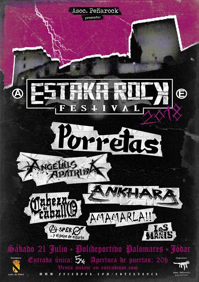 Estaka Rock 2018 | Cartel, grupos, entradas, abonos, horarios y más