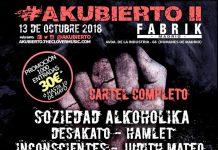 Se cancela festival Akubierto 2 que se iba a celebrar en Madrid