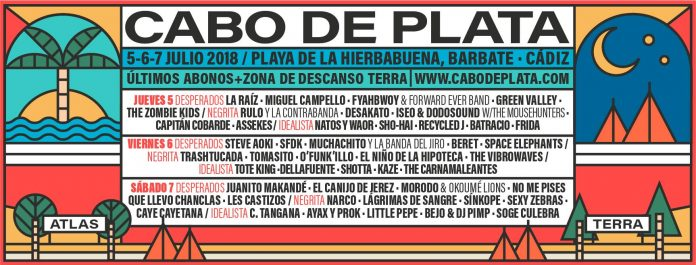 Festival Cabo de Plata 2018 | Cartel, grupos, entradas, abonos, horarios y más