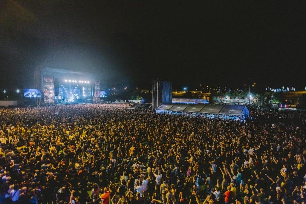 Más de 100.000 personas asistieron a la segunda edición del Download Festival Madrid