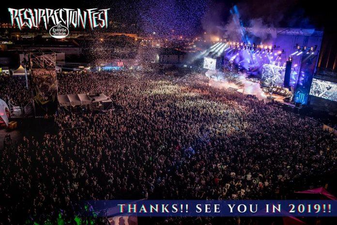 Más de 80.000 personas acudieron al Resurrection Fest 2018 colgando el cartel de entradas agotadas