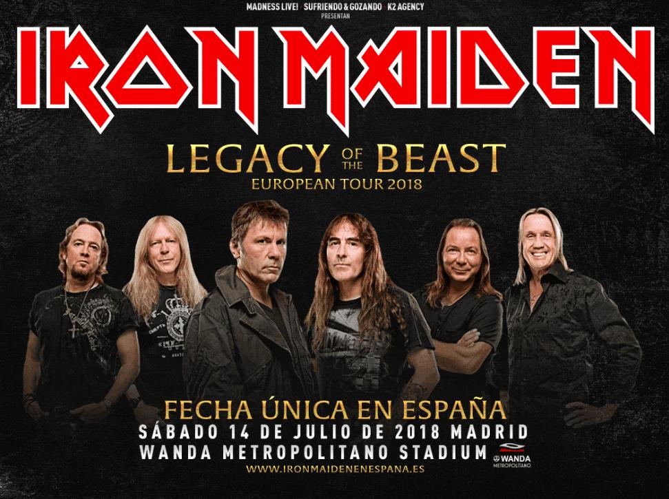 Revive en video el concierto de Iron Maiden más grande en España