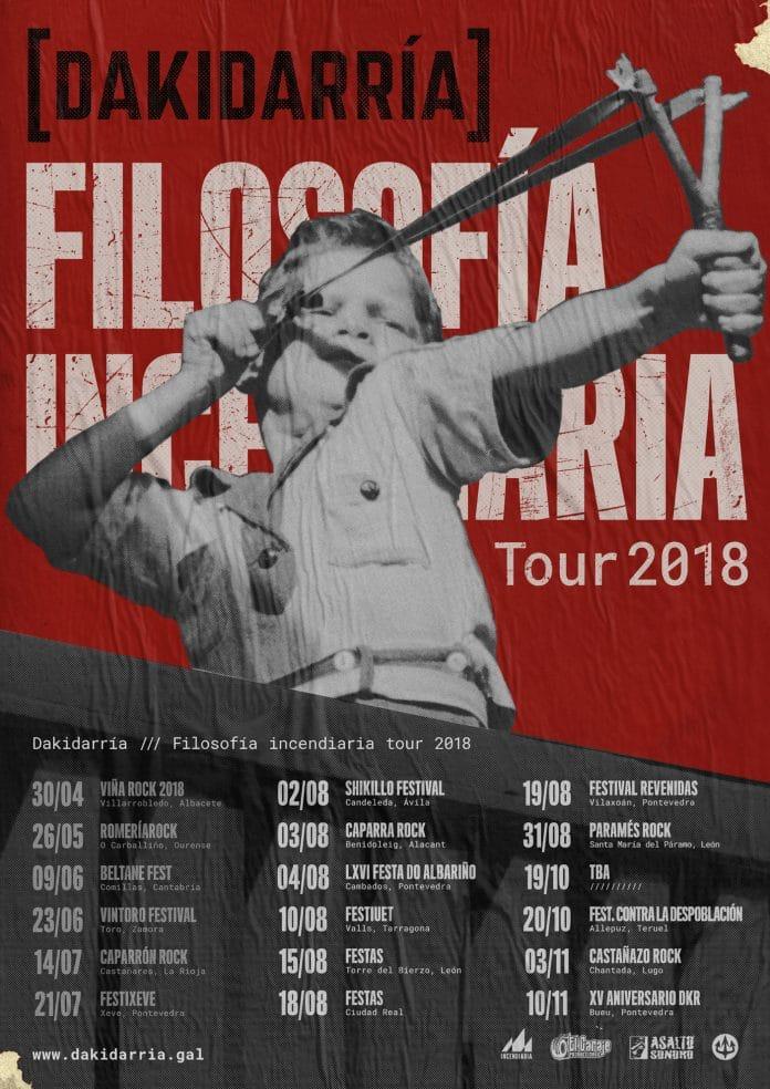 Dakidarría anuncia nuevos conciertos para los próximos meses