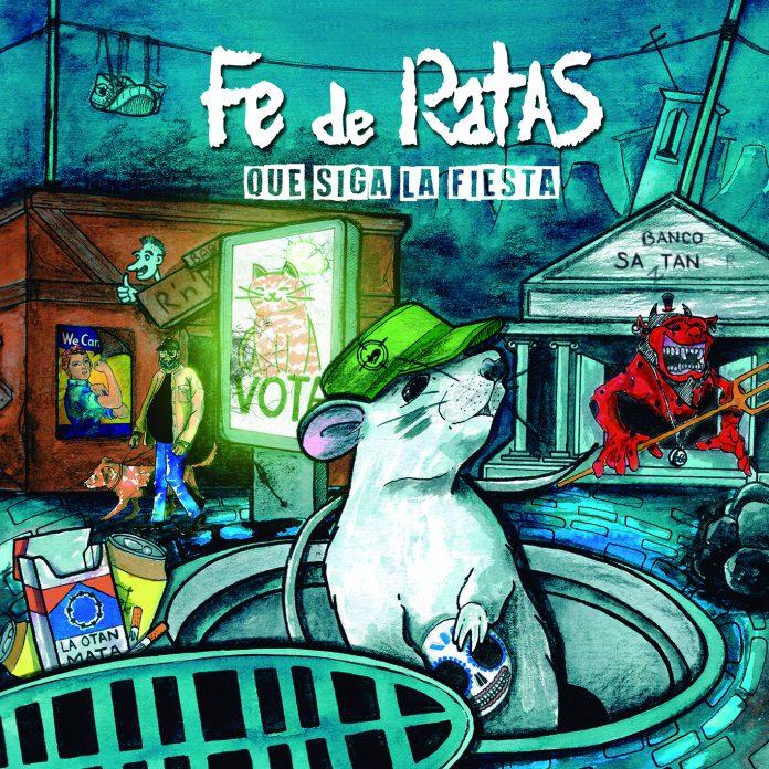 Que Siga La Fiesta será el título del próximo disco de Fe De Ratas