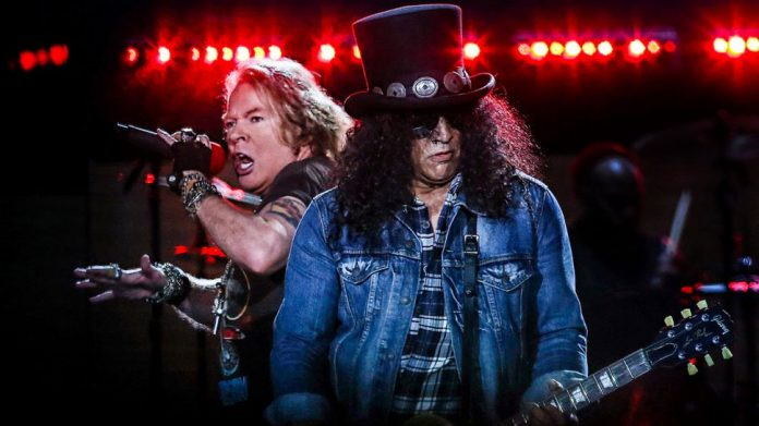 GUNS N' ROSES comparten un video de Welcome To The Jungle grabado en Download Festival Madrid