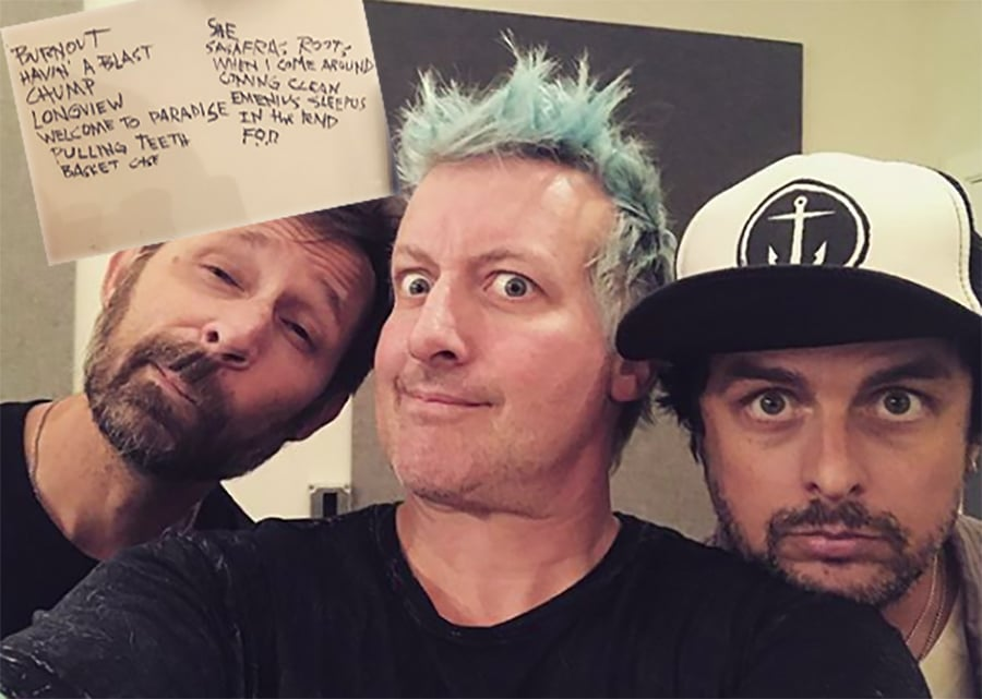 Rumores apuntan una gira de Green Day por los 25 años de Dookie