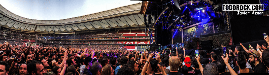 Iron Maiden consigue reunir a más de 50.000 personas en Madrid