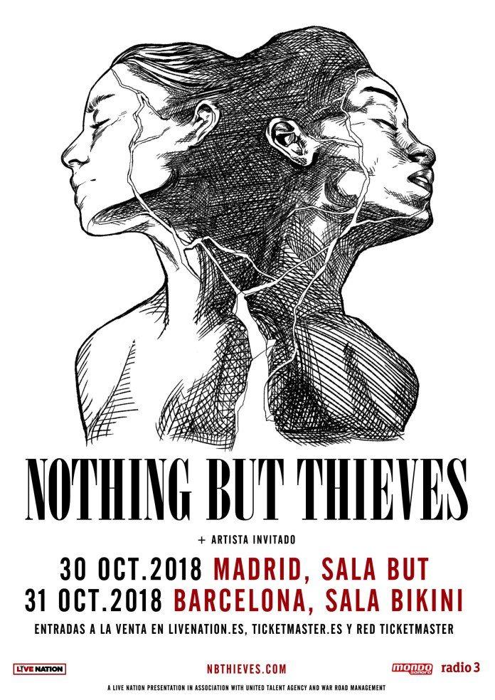 Nothing But Thieves en Madrid y Barcelona en octubre