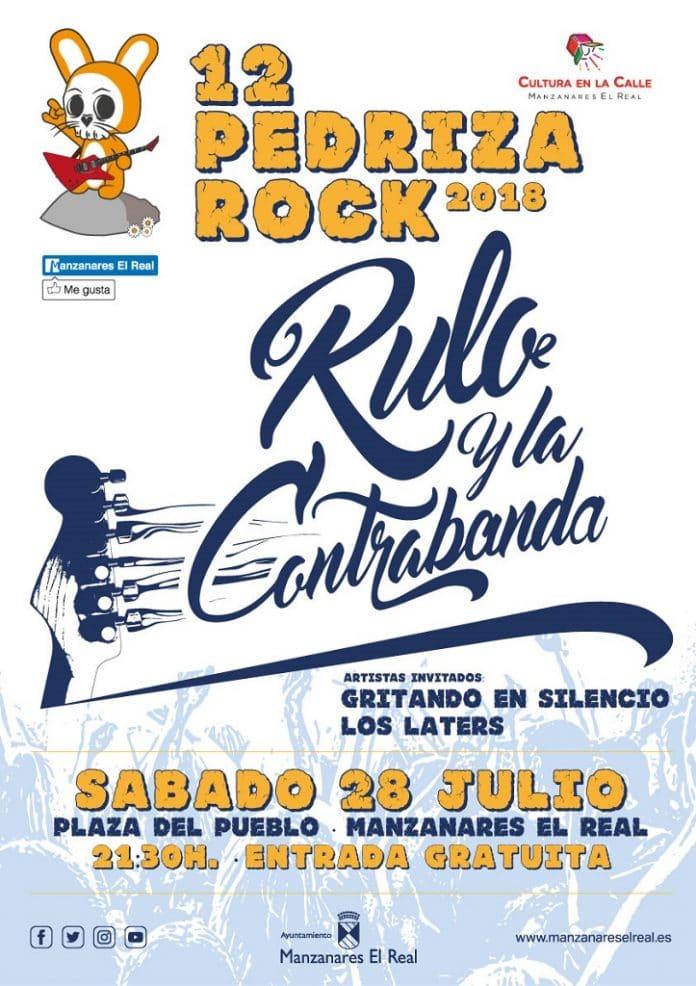 Rulo y La Contrabanda, Gritando en Silencio y Los Laters gratis en Manzanares el Real, Madrid