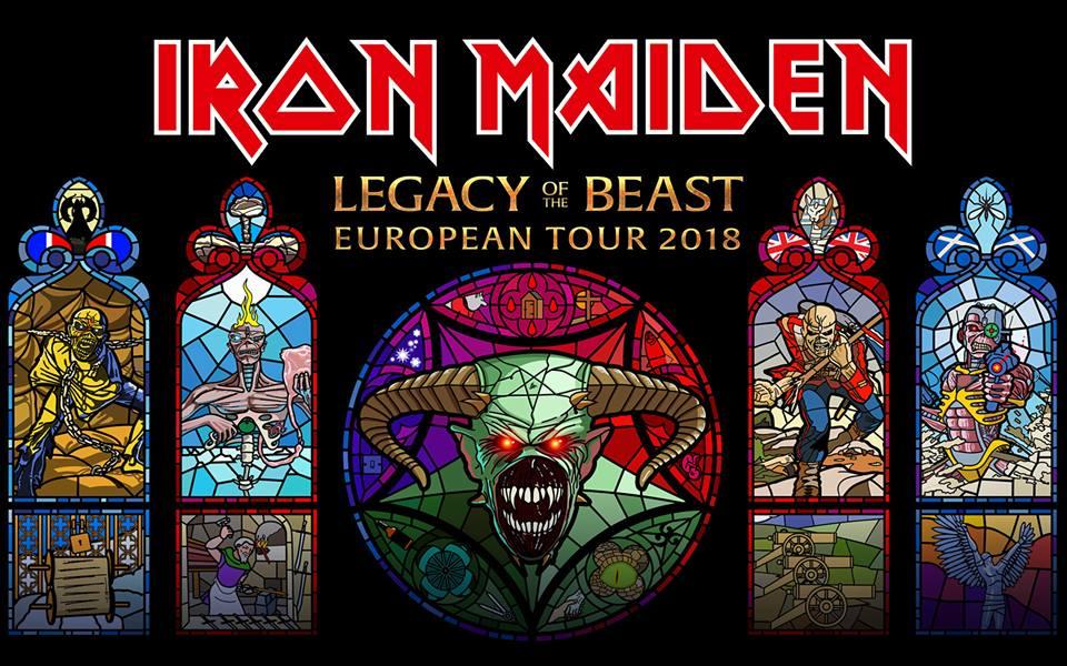 Iron Maiden se despide de todos sus fans hasta la próxima gira