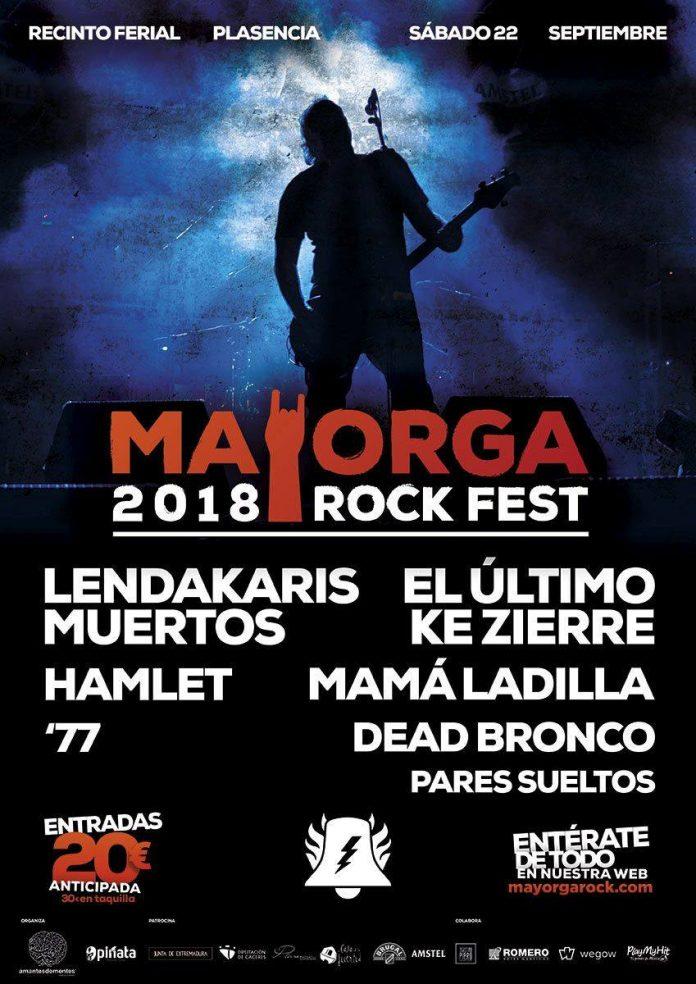 Mayorga Rock Fest 2018 | Cartel, grupos, entradas, abonos, horarios y más