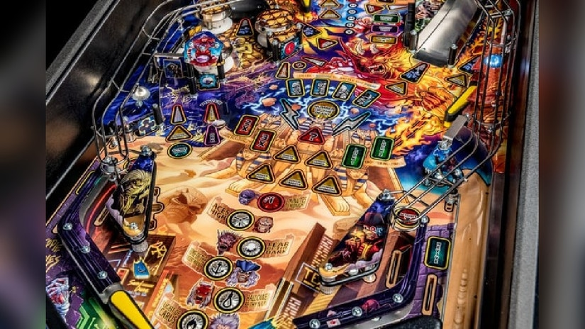 Así es el pinball de Iron Maiden Legacy Of The Beast