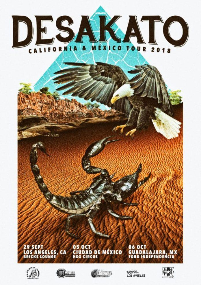 Desakato visitarán California y México en septiembre y octubre