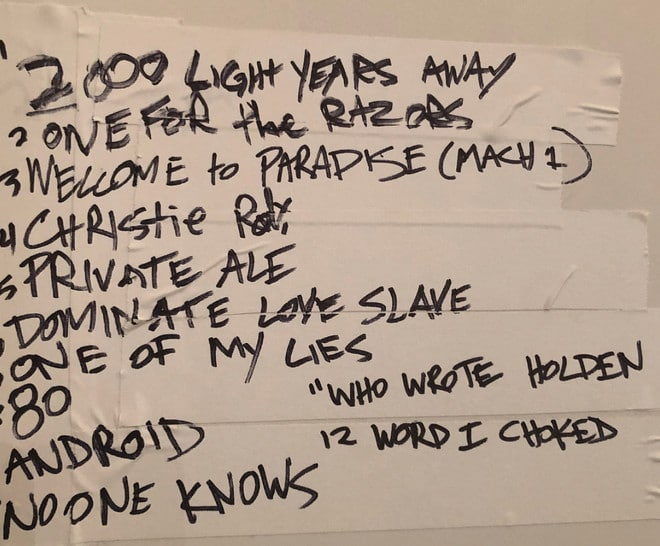 Green Day ensayan su disco Kerplunk al completo