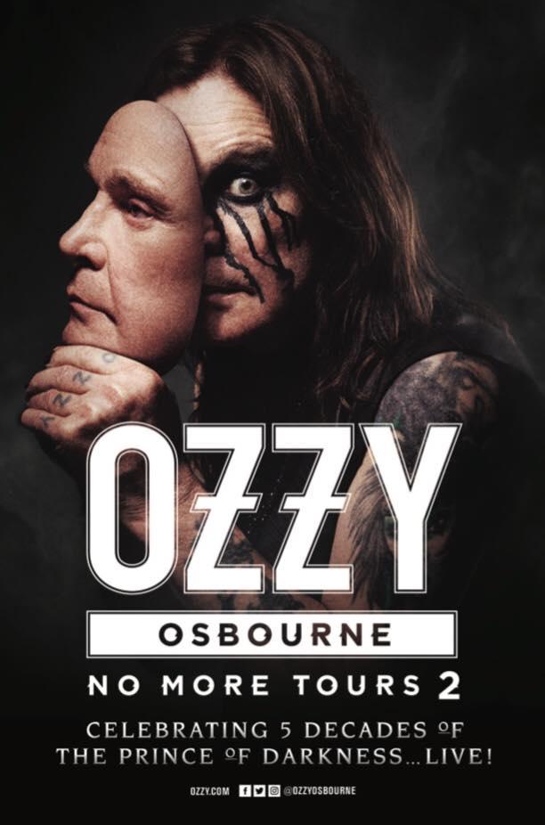 ACTUALIZACIÓN: Por ahora no hay ningún concierto confirmado de Ozzy Osbourne en Madrid