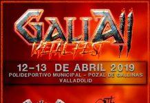 GALIA METAL FEST 2019 |Cartel, grupos, entradas, horarios y más información