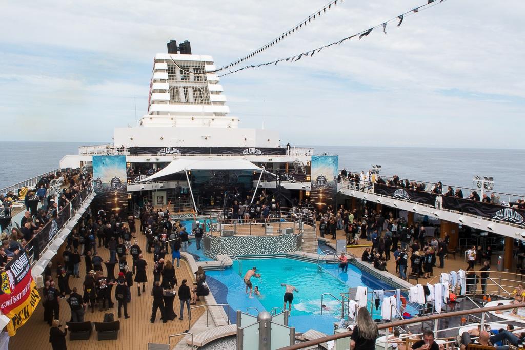 Así es Full Metal Cruise, el crucero de heavy metal más grande de Europa