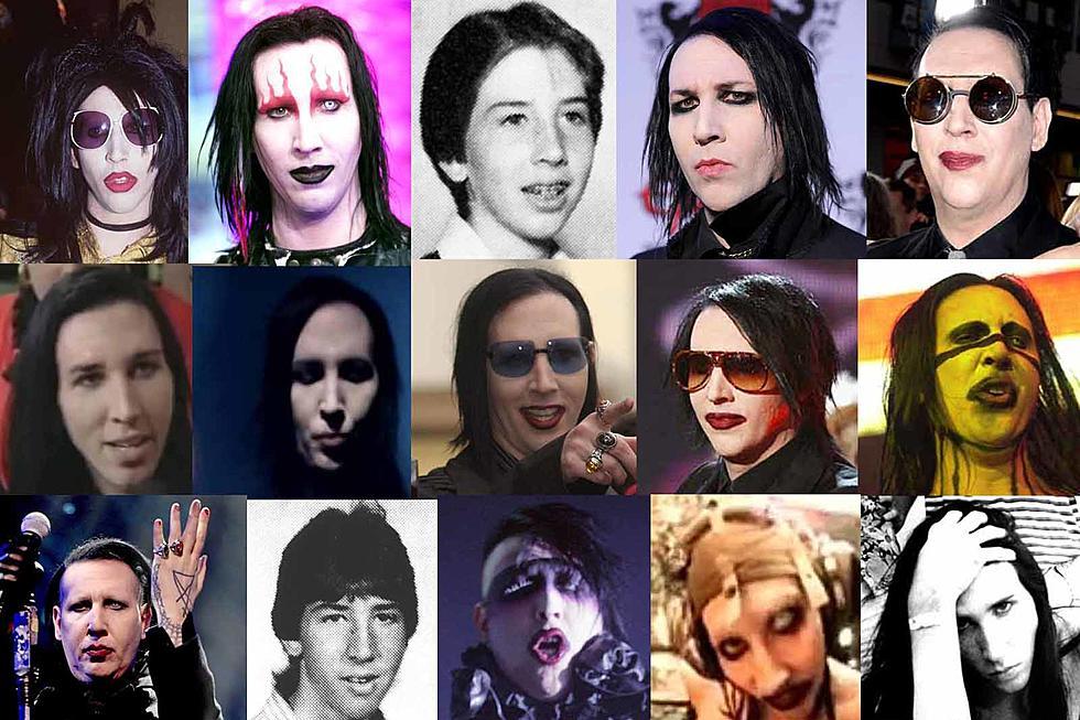 La historia de Marilyn Manson en fotos: desde 1994 hasta 2018
