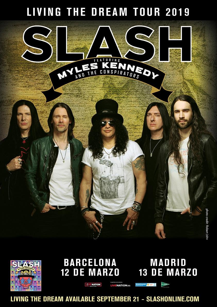 Nuevo video de SLASH durante su concierto en París