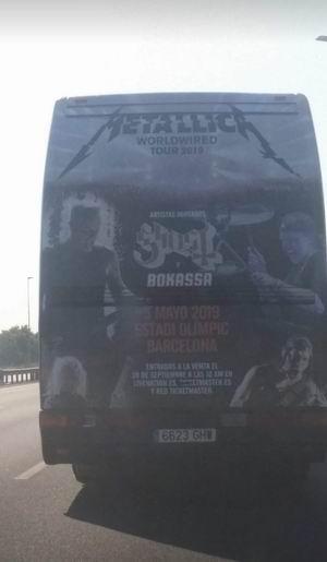 Metallica y Ghost tocarán en Barcelona en 2019