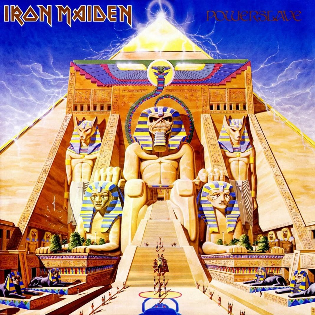 Los Portadas del HEAVY METAL 80/85.   Powerslave-album-cover