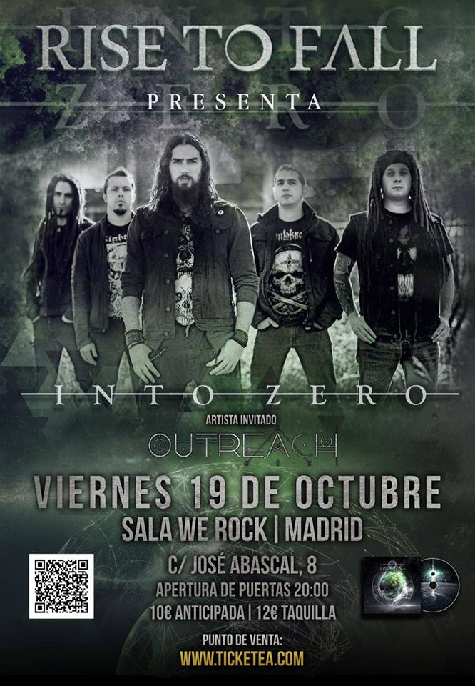 Rise To Fall: ya disponible su nuevo disco Into Zero y concierto en Madrid