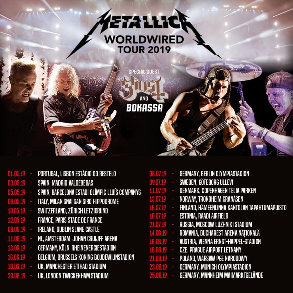 Metallica en España: entradas de hasta 2.199 euros, Golden Circle, Snake Pit y otras locuras
