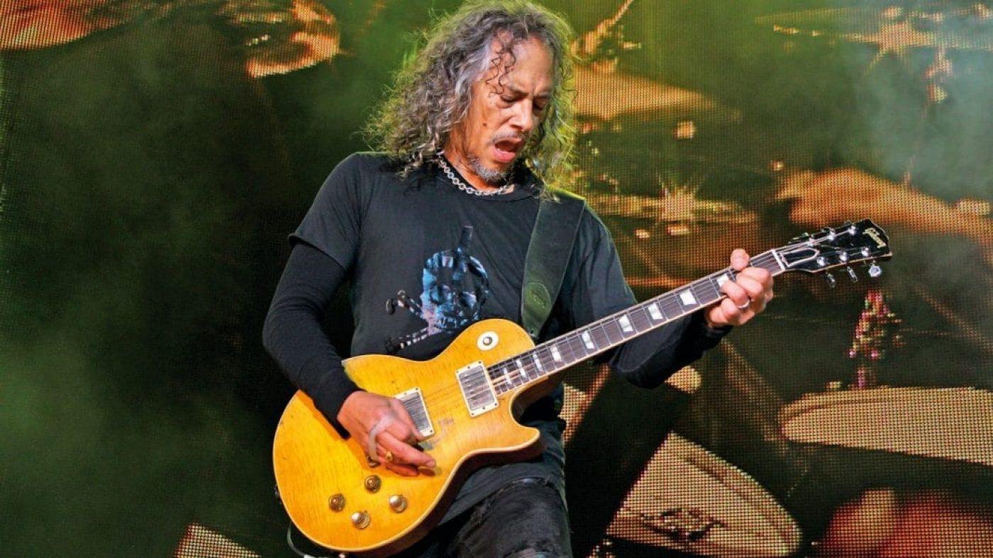 """Kirk Hammett de Metallica sobre la quiebra de Gibson: """"para mí es una  noticia triste"""" - TodoRock.com"""