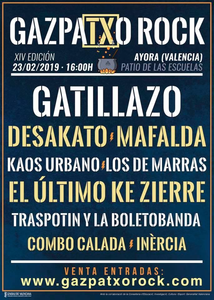 Gazpatxo Rock 2019: cartel completo y entradas ya a la venta
