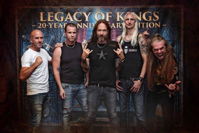 Hammerfall reeditará su disco Legacy Of Kings por su 20 aniversario