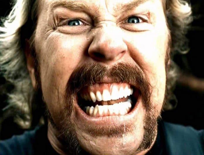 James Hetfield de Metallica: