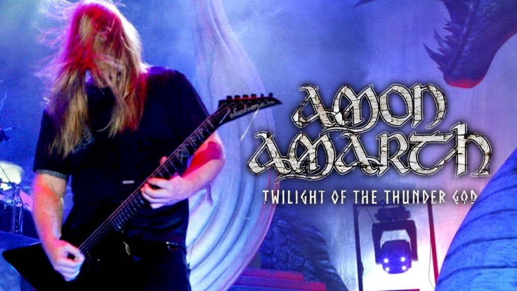 Amon Amarth: video de Twilight Of The Thunder God grabado en directo