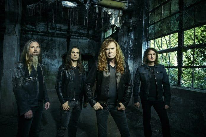 Dave Mustaine de Megadeth publica un video de la grabación de su próximo disco