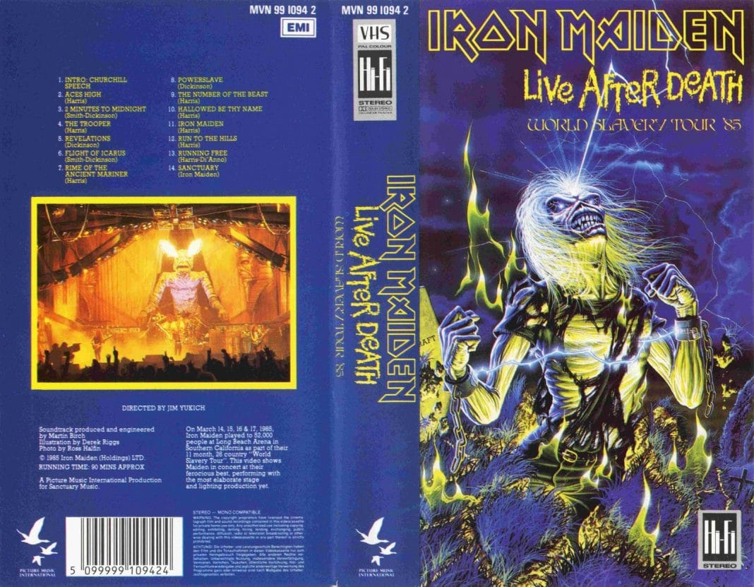 "10 curiosidades de ""Live After Death"" de IRON MAIDEN"
