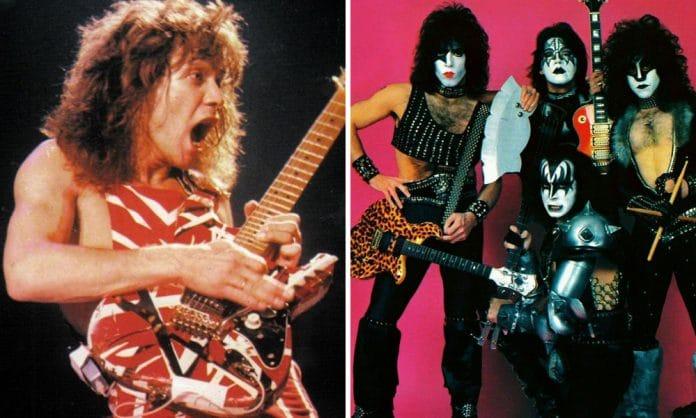 Eddie Van Halen quiso unirse a Kiss en 1982 según Gene Simmons