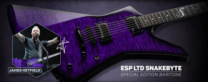 Así son las nuevas guitarras ESP de JAMES HETFIELD de METALLICA
