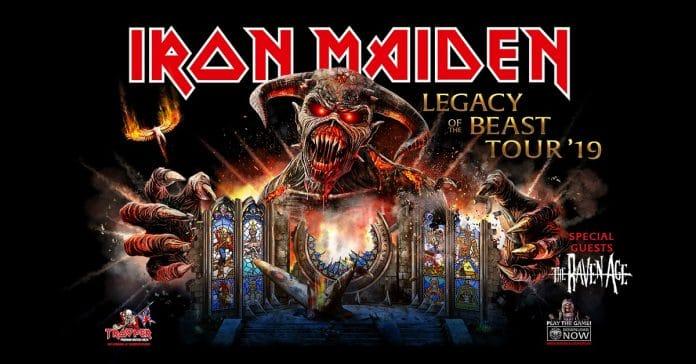 Iron Maiden anuncia 38 nuevas fechas para su gira