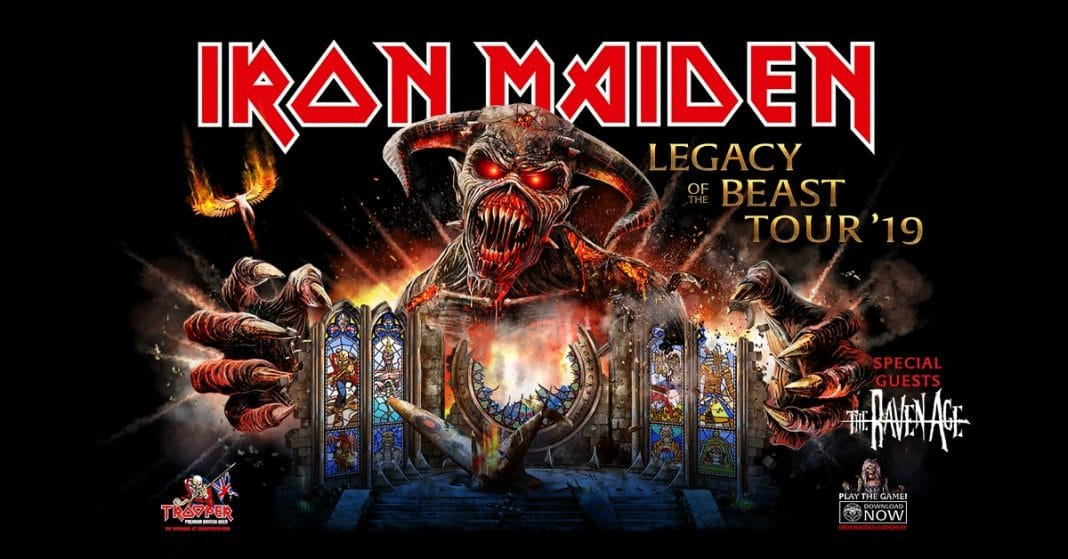 "IRON MAIDEN retoma la gira ""Legacy Of The Beast"" en Estados Unidos: Set list y videos"