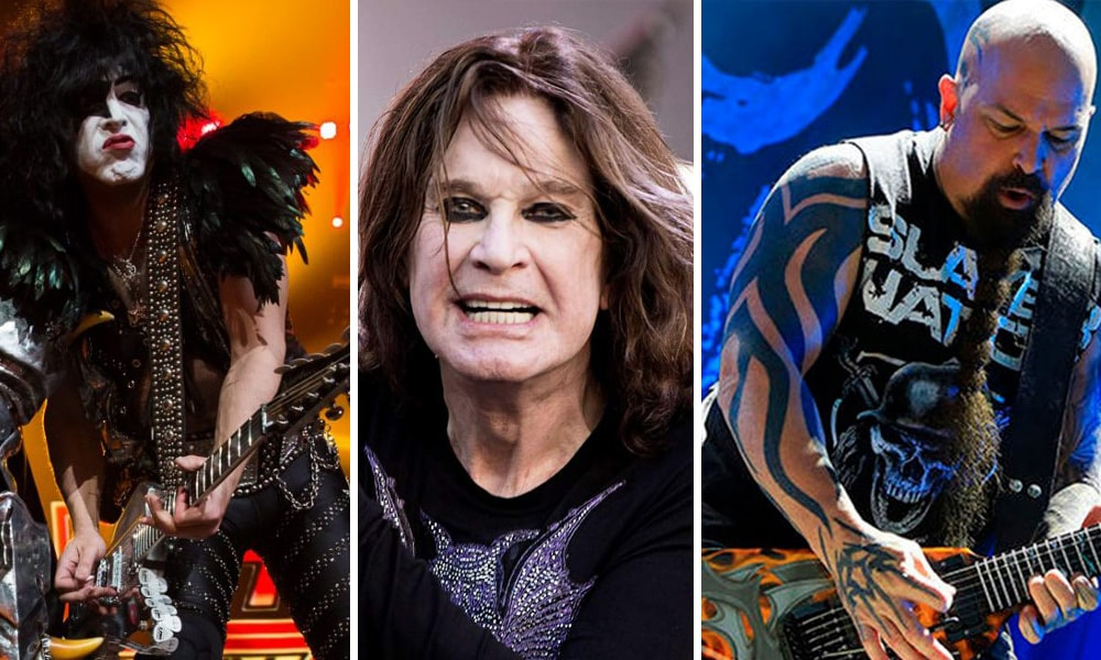 Kiss, Ozzy y Slayer se despedirán en 2019